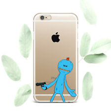 Rick and Morty Silicone Soft Rubber Case Cover Back For Apple iPhone 5