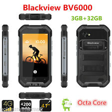 4.7'' Blackview BV6000 4G Smartphone Android 7.0 MTK6755 64 Bit OCTA CORE 3G+32G
