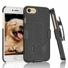 APPLE IPHONE 6 / 6S PLUS SHELL HOLSTER BELT CLIP COMBO CASE COVER WITH