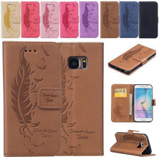 PU Leather Slot Magnetic Flip Wallet Stand Case Pouch Cover for Samsun