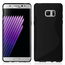 Housse Etui Coque TPU Silicone Gel S-Line pour Samsung Galaxy Note FE