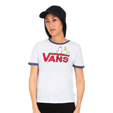 Vans x Peanuts - Snoopy Ringer T-Shirt White / True Navy
