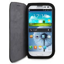 For Samsung Galaxy S III 3 S3 GGMM Ultra Thin PU Leather Flip Pouch Wa
