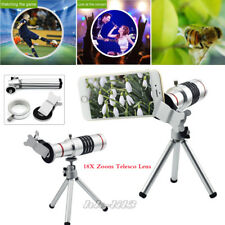 Clip-on 18X Zoom Optical Telescope Phone Camera Lens For iPhone Samsun