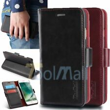 Luxury Genuine PU Leather Flip Wallet Card Case Cover For iPhone 7 7 P