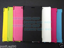 Flip Cover Case Hard Back For Nokia Lumia 720