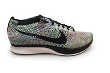 Mens Nike Flyknit Racer - 526628304 - Green Blue Pink White Black Trainers