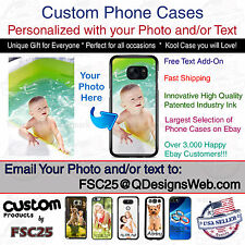 Personalized Photo Logo Selfie Collage phone case fits Samsung Galaxy