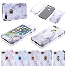 Marble Pattern Hard Bumper Protective Shell Cover Case For iPhone 7 /