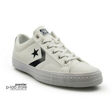 Converse Star Player Classic White Navy Canvas Mens Trainers New on Sale