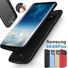 External Back Power Bank Pack Battery Charger Case For Samsung Galaxy