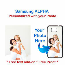 Personalized Photo Picture Phone Case Cover For Samsung Galaxy ALPHA S