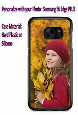 Customized Phone Cover Case with Your Photo For Samsung S6 Edge PLUS /