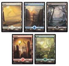 Magic the Gathering MTG Amonkhet Fullart Länder Standard & Foil Karten Auswahl