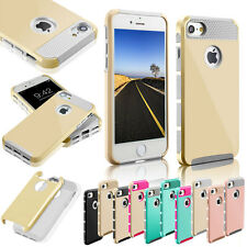 Shockproof Rugged Hybrid TPU Rubber Hard Cover Case For Apple iPhone 5