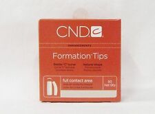 CND Creative Nail Design Tips FORMATION CLEAR Refill Variations ~ 50ct/pack~