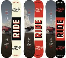 Ride Snowboards - Burnout All-Mountain Freestyle híbrido Camber - 2016