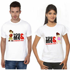 100% Cotton Couple T-Shirt Hum Tum 4 all hot & sexy Couples crazy in love