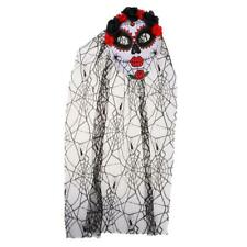 Horror Zombie Ghost Bride Mask Ladies Halloween disfraz traje de disfraces