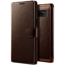 Samsung Galaxy Note 8 Case, VRS Design™ PU Leather Wallet Case with 3 Card Slots