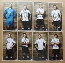 2013-14 Signed Bayern Munich Official Club Cards