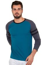 Cult Fiction men's Blue Color Round Neck Cotton T-Shirt (CFM03MB917)