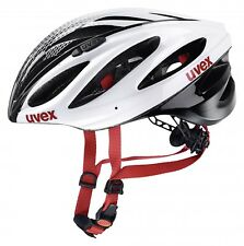 Uvex Boss Race Casco Bicicleta - White Black