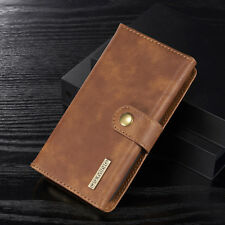 Luxury Leather Removable Card Compartment Wallet Case Cover For iPhone