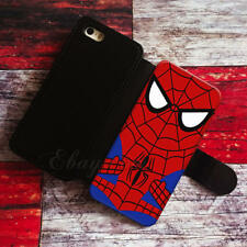 Spider Man Wallet iPhone cases Spider Man Samsung Wallet Leather Phone