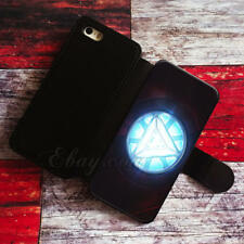iron man heart Wallet iPhone cases iron man Samsung Wallet Leather Pho