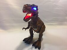 Walking Dinosaur T Rex Toy Figure With LED Lights,sound And Real Movement. NEW-