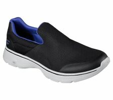Skechers Hombre Go Walk 4-Incredible Caminar/Zapatillas running Negro/Azul