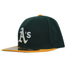 New Era 59Fifty MLB Oakland Athletics Fitted Cap Green Yellow 10047655 UW