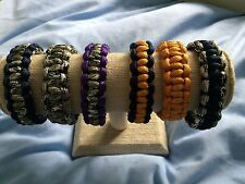 "Unisex Adult & Child Paracord ""Survival""  Bracelets in Various Colours and Sizes"