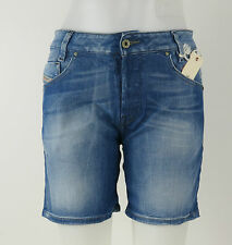 Diesel DONNE shorts jeans 00cerc-008c2-01 Clevy Calzoncini +NUOVO+