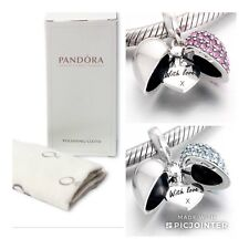 Pandora Cleaning Cloth free Mum Sterling Silver With Love  Charm Mother's Day