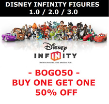 Disney Infini Figurines Personnages 1.0 2.0 =Wii/Wii U/PS3/PS4/Xbox 360/One /3DS