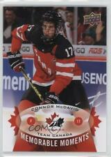 2015 Upper Deck Spring Expo Memorable Moments #MM-CM1 Connor McDavid Hockey Card
