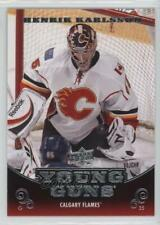 2010-11 Upper Deck #209 Henrik Karlsson Calgary Flames RC Rookie Hockey Card