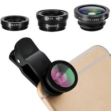 3 in 1 Fisheye Lens & Macro Lens & 0.67X Super Wide Angle Lens Cell Phone
