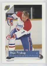 1991-92 Ultimate French #5 Peter Forsberg Philadelphia Flyers Rookie Hockey Card