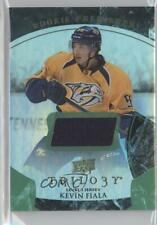 2015 Upper Deck Trilogy Green Rainbow Foil #108 Rookie Premiere Kevin Fiala Card