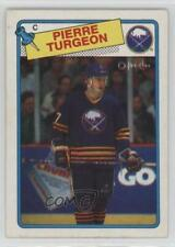 1988-89 O-Pee-Chee #194 Pierre Turgeon Buffalo Sabres RC Rookie Hockey Card