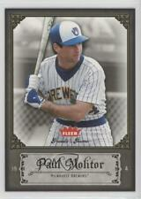 2006 Fleer Greats of the Game #69 Paul Molitor Milwaukee Brewers Baseball Card