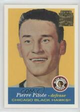 2001-02 Topps/O-Pee-Chee Archives 7 Pierre Pilote Chicago Blackhawks Hockey Card