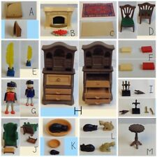 PLAYMOBIL 5310 GRANDPAS DEN Victorian Mansion 5300 Dollhouse Furniture CHOICE