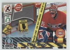 1997-98 Pacific Omega No Scoring Zone 6 Andy Moog Montreal Canadiens Hockey Card