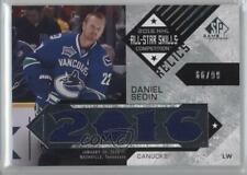 2016-17 Upper Deck SP Game Used All-Star Skills Relic Blends ASB-DS Daniel Sedin