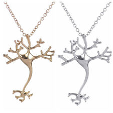 UK NEURON BRAIN CELL PENDANT NECKLACE Jewellery Gift Biology Science Molecule