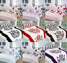 Luxury Printed Nature Floral Duvet Quilt Cover Bedding Set with Pillowcases